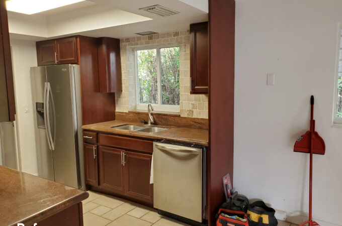 Kitchen of the Month Winner for New Cabinets for July